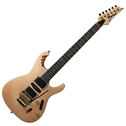Ibanez EGEN8-PLB-d Platinum Blond Herman Li Signature 6-String Right Hand Electric Guitar (discontinued clearance)  (Prior Year Model)