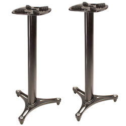 Ultimate Support MS9036B 36 Inch Professional Column Studio Monitor Stand in Black