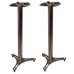 Ultimate Support MS9045B 45 Inch Professional Column Studio Monitor Stand in Black