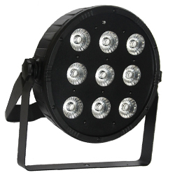 Microh DJ LED BLADE P9-QUAD Slim 9x10 Watt LED with Remote and DMX (discontinued clearance)