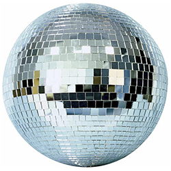 Microh DJ MB-1200 12 Inch Mirror Ball