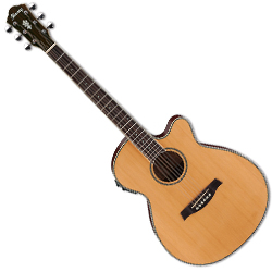 Ibanez AEG15II-LG AEG Series Acoustic Electric Guitar in Natural Low Gloss (Discontinued Clearance)
