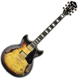 Ibanez AM93-AYS Artcore Expressionist Hollow Body Guitar in Antique Yellow Sunburst (discontinued clearance)