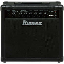 Ibanez IBZ15GR-N IBZ Series 15 Watt Electric Guitar Amplifier