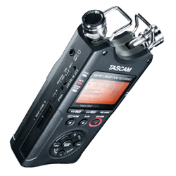 Tascam DR-40 24 bit 96kHz Linear PCM Portable Digital Recorder (discontinued clearance)