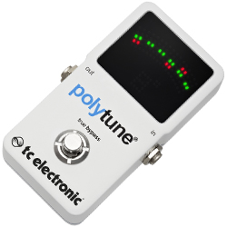 TC Electronic PolyTune 2 Polyphonic Guitar Tuner