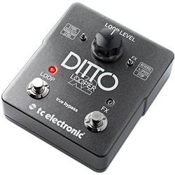 TC Electronic Ditto X2 Looper Effects Guitar Pedal