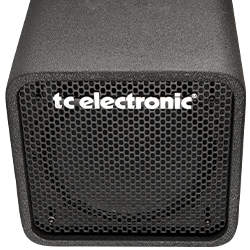 TC Electronic RS112 1x12 Inch Driver and 1 Inch Tweeter Bass Amp Cabinet