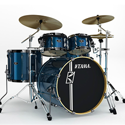 Tama SK52HXZB5SISP Superstar Hyperdrive Drum Shell Kit in Indigo Sparkle (discontinued clearance)