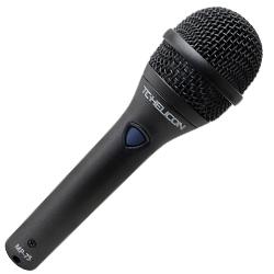 TC Helicon MP-75 Zinc die-cast Body Dynamic Microphone