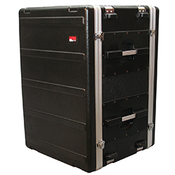 Gator G-SHOCK16L ATA Polyethylene 16 Unit Rack Case With Shockmounts
