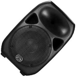 Wharfedale Pro Titan 12-Black 12 Inch Two Way Passive Speaker in Black