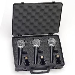 Samson R21 Cardioid Dynamic Microphone (3PK)