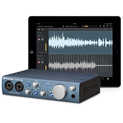 Presonus Audiobox iTwo 2x2 USB 2.0 iPad Recording System with MIDI I/O