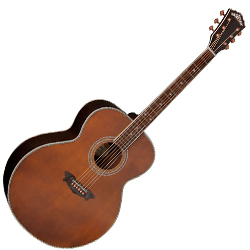 Washburn WJ130EK Jumbo 6 String RH Acoustic Guitar with Case (discontinued clearance)