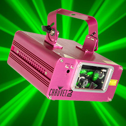 Chauvet DJ Scorpion-Dual FAT Beam Laser with 32 built in Patterns