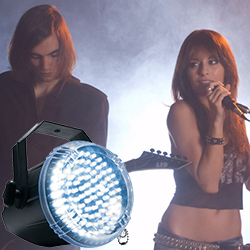 American DJ BIG-SHOT-LED-II White LED Strobe Light