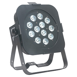 American DJ FLAT-PAR-TW12 Low Profile DMX LED PAR- 12x5W CW-WW-A -40° Beam