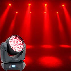 American DJ Pro INNO-COLOR-BEAM-Z19 Professional Moving Head LED Intelligent Light