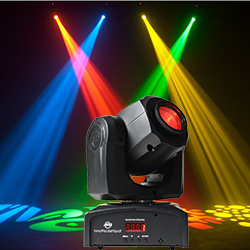 American Dj Inno Pocket Spot Led Moving Head Black Discontinued Clearance