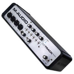M-Audio M-Track Quad Four-Channel Audio + MIDI USB Interface (discontinued clearance)