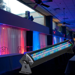 American DJ MEGA-BAR-50RGB-RC compact 22 inch RGB LED Lighting Bar Wash Light
