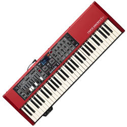 Nord By Clavia ELECTRO5D61 61 Key Semi Weighted Waterfall Nord Electro 5 Keyboard with Stereo Effects