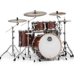 Mapex MPX-AR529-SWT Armory Series 5 Piece Rock Shell Kit in Transparent Walnut