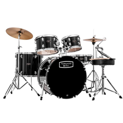Mapex MPX-TND5294TCDK Tornado Rock Drum Set in Black