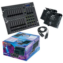 American DJ Stage-Pak-1 DMX Lighting Controller Package