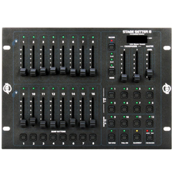 American DJ Stage-Setter-8 DMX Lighting Controller