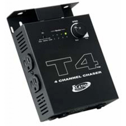American DJ T4 Sound-To-Light Chase Controller