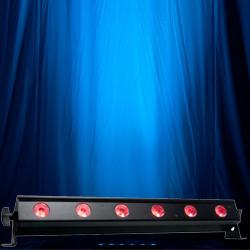 American DJ ULTRA-BAR-6 Bar Wash Light with 6 3W Ultra bright TRI LEDs