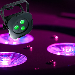 American DJ ULTRA-HEX-PAR3 LED Par with 3 10W 6 in 1 HEX LEDs