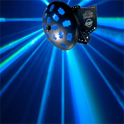 American DJ VERTIGO-HEX-LED Effects Light with 12W HEX RGBCAW LEDs