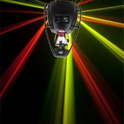 American DJ Pro VIZI-ROLLER-BEAM-2R DMX Barrel Scanner with 14 Colors