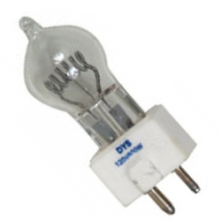 American DJ ZB-DYS 120V 600W Quartz Halogen Lamp Replacement Bulb with GY 9.5 Socket