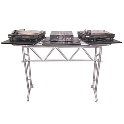 Odyssey ATT2 Fold Flat Truss Table with Swiveling Side Platforms