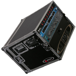 Odyssey FRAR8E 8 Space Econo Amp Rack Case