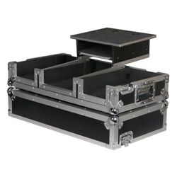 Odyssey FRGS4400W Flight Ready Glide Style Case with Wheels for Pioneer DJM-350/400 Mixer and two CDJ-350/400 Players
