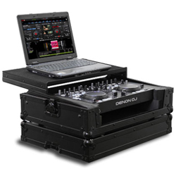Odyssey FRGSDNMC36000BL Black Label Flight Ready Case For Denon DN-MC3000/DN-MC6000 DJ Controller