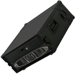 Odyssey FZAR04BL Black Label 4 Space Amp Rack