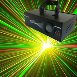 Microh DJ FIREFOX-RG Red and Green Laser Effect with DMX