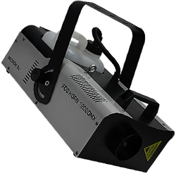 Microh DJ FOGHORN-1200DMX 1200W DMX Fog Machine with Wired and Wireless Remote