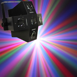Microh DJ LED TRICKSTER 282x5mm LEDs Multi Beam and Strobe Effect with DMX