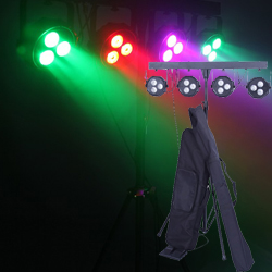Microh DJ LED-STAGEBAR-TRI38 4xTri38 with 3xTri LEDs Stage Bar System