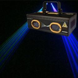 Microh DJ NEPTUNE GB Dual 500mW Green and Blue DMX Scanning Laser