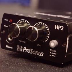 Presonus HP2 Compact Battery Powered Headphone Distribution Amplifier