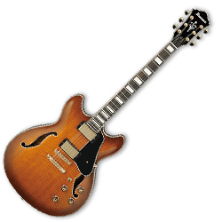 Ibanez AS93-VLS Artcore Epressionist Hollow Body 6 String Electric Guitar in Violin Sunburst (discontinued clearance)