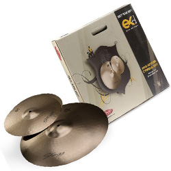 Stagg EXD SET B8 Bronze Cymbal Set with 14 Inch Hi-Hats and 18 Inch Crash Ride